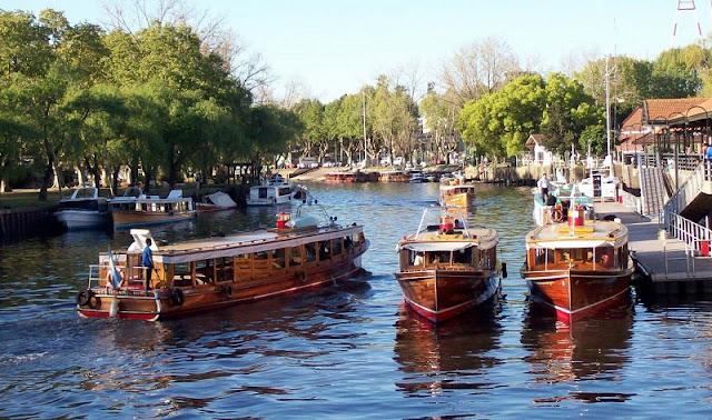 Excursão de barco pelo Rio Tigre