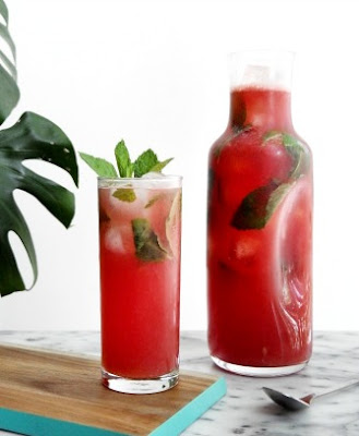 Sparkling Watermelon Vodka Lemonade Recipe