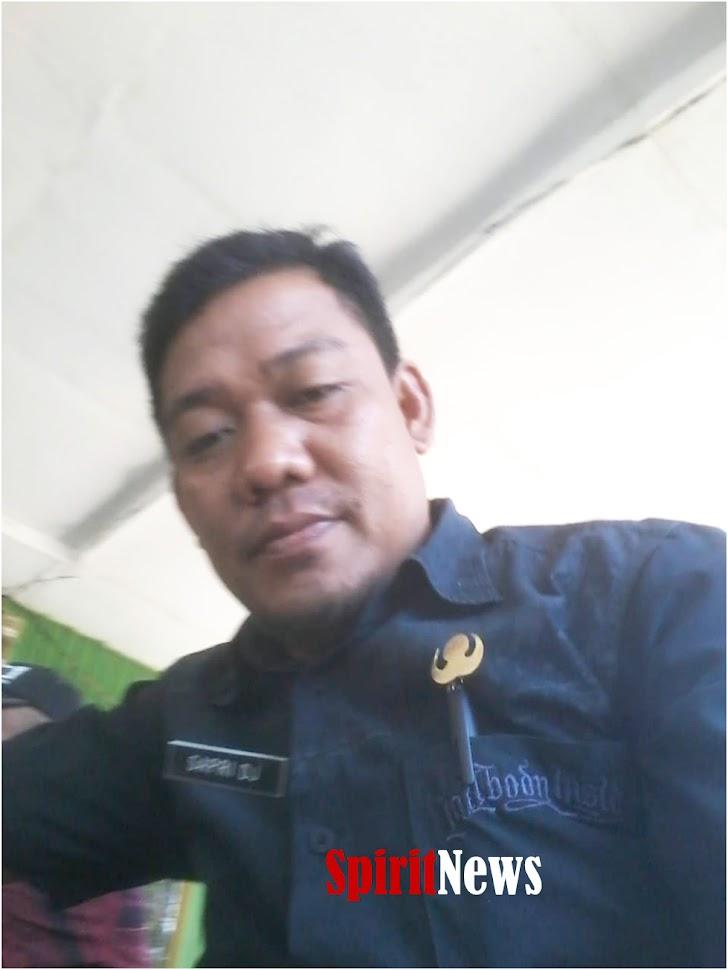 Bupati H Syamsari, S.Pt, MM, Menetapkan Sapri, S.Sos, Jadi Plt Kades Pattopakang