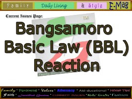 persuasive essay about bangsamoro basic law