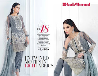 Gul Ahmed Eid Collection 2017-2018
