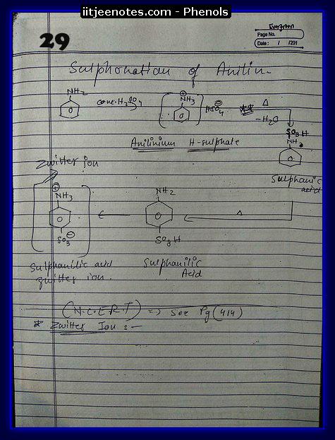Phenol Notes 15