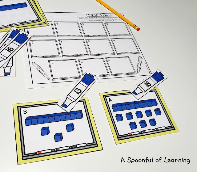Back to School Centers - Math Center 8