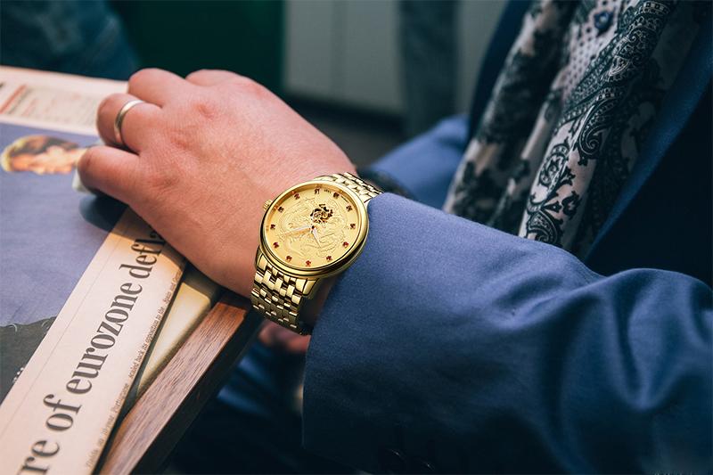 đồng hồ vàng cho nam