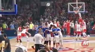 Basket: Le joueur Français Edwin Jackson se fait cracher au visage et traiter de singe pendant un match à Belgrade