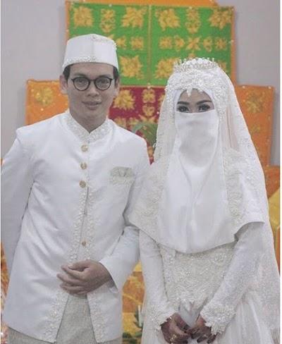 Gambar Pengantin Muslimah Bercadar