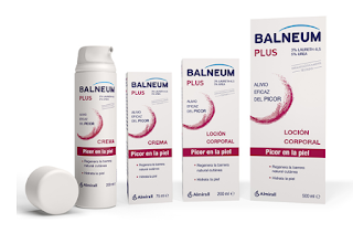 prueba los productos para picores en la piel de la marca Balneum