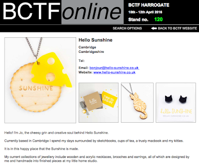 Hello Sunshine listing in BCTF directory