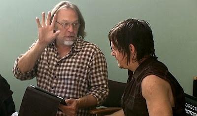 The Walking Dead: Greg Nicotero e Norman Reedus