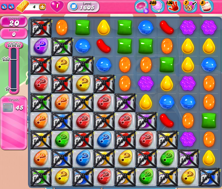 Candy Crush Saga 1605