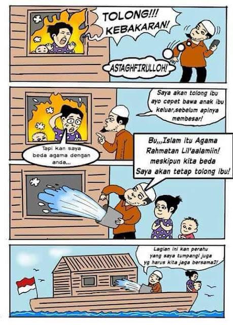"""Dua Kartun yang Membantah Fitnah """"Agamamu Apa?"""" dan Sebuah Kesaksian"""