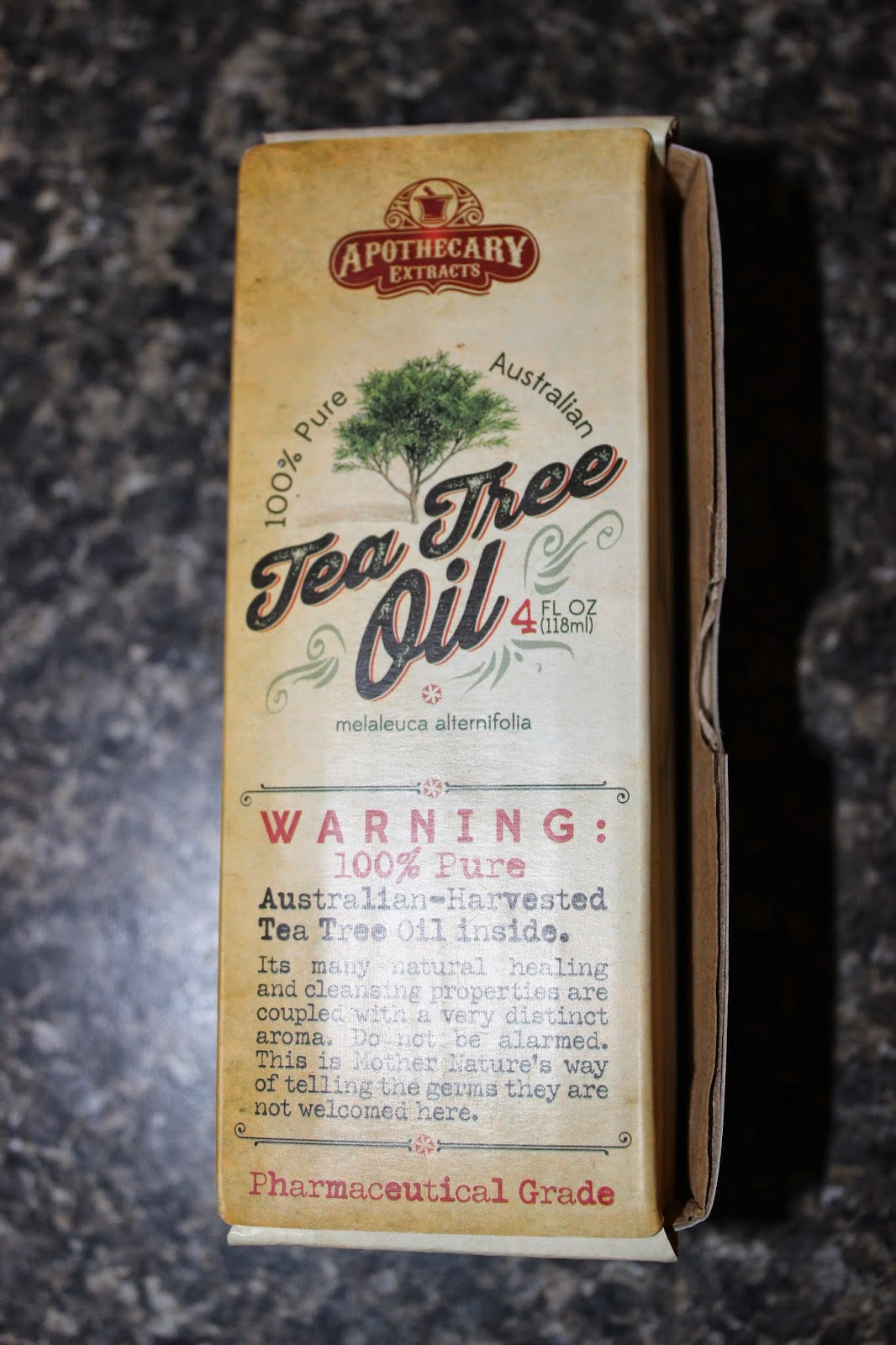 Trying To Go Green Apothecary Extracts Tea Tree Oil