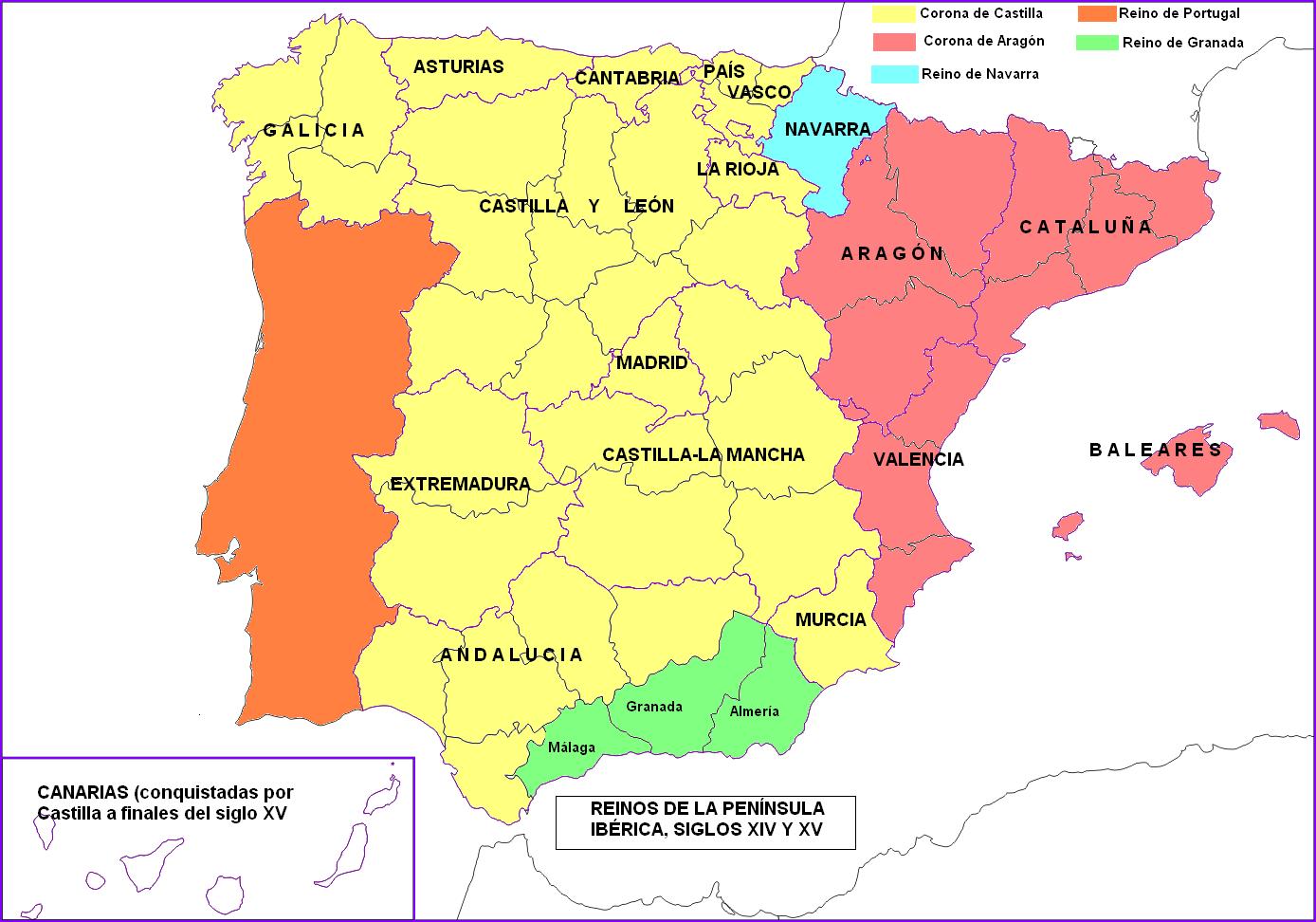 Blog de Sociales para el alumnado de 1º y 2º ESO: Tema 5. Los reinos cristianos peninsulares en ...