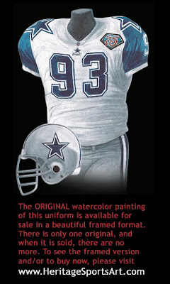 Dallas Cowboys 1994 uniform