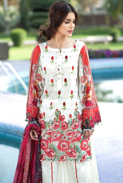 Mausummery Summer Lawn Prints 2017 Collection Vol-2 with Prices