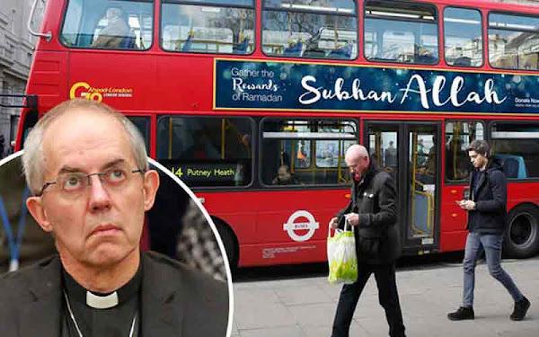 Η πρώτη διαφημιστική εκστρατεία του νέου δημάρχου Λονδίνου: «το Ισλάμ είναι μια φωτεινή» θρησκεία»...