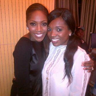 Welcome To Adenike's Blog: Photo of the Day: Annie Idibia & Tiwa Savage