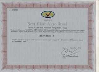 sertifikat akreditasi PAI