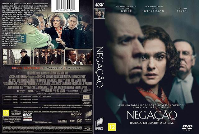 Capa DVD Negação [Exclusiva]