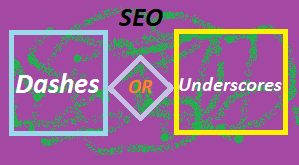 URL Structure , Dashes or Underscores