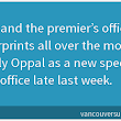 The only way that the legislature debacle becomes an NDP/Liberal proxy war is if the narrative is spun that way