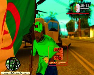 تحميل لعبة جاتا الجزائر الاصدار الاول على الميديافير برابط واحد gta algeria san andreas mod