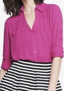 Sydney Fashion Hunter - The Monthly Wrap September 2015 - Radiant Rose Portofino Shirt