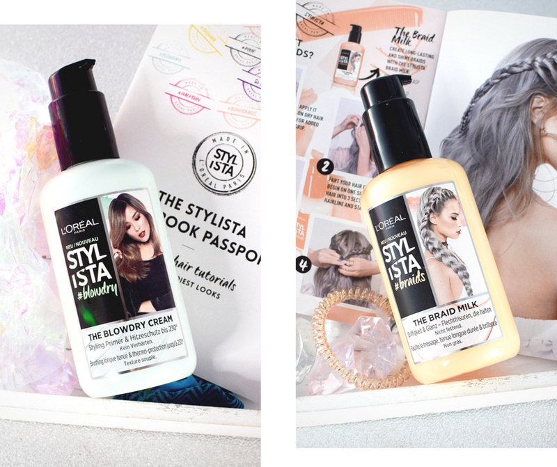 Stylista von L'Oréal Paris, #braids, #blowdry,Test, Erfahrung, Review