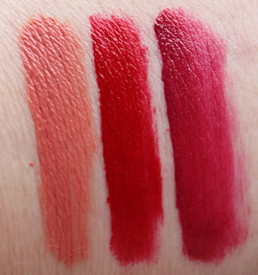 NYC Expert Last Matte Lip Lacquer Swatches
