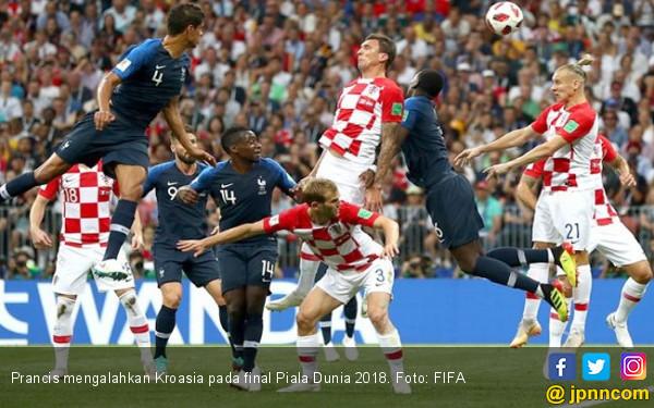 Prancis Juara, Berikut 6 Fakta Menarik Final Piala Dunia 2018