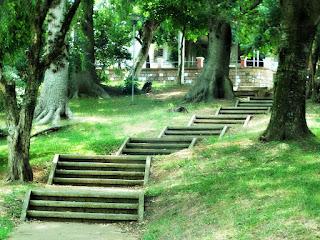 Escadaria do Parque Alim Pedro ao Largo Elis Regina - Vila IAPI, Porto Alegre