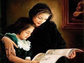 كتابة موضوع تعبير عن دور الام في حياة الابناء
