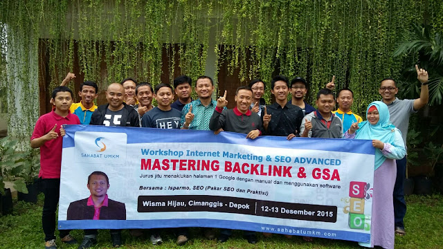 Workshop Mastering Backlink & GSA