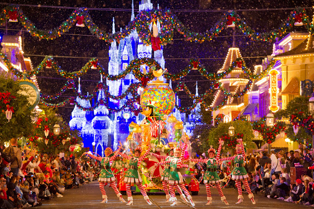 Natal Disney Magic Kingdom Mickey's Merry Christmas Party