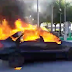Πυρκαγιά κατέστρεψε ολοσχερώς αυτοκίνητο (+ΒΙΝΤΕΟ)
