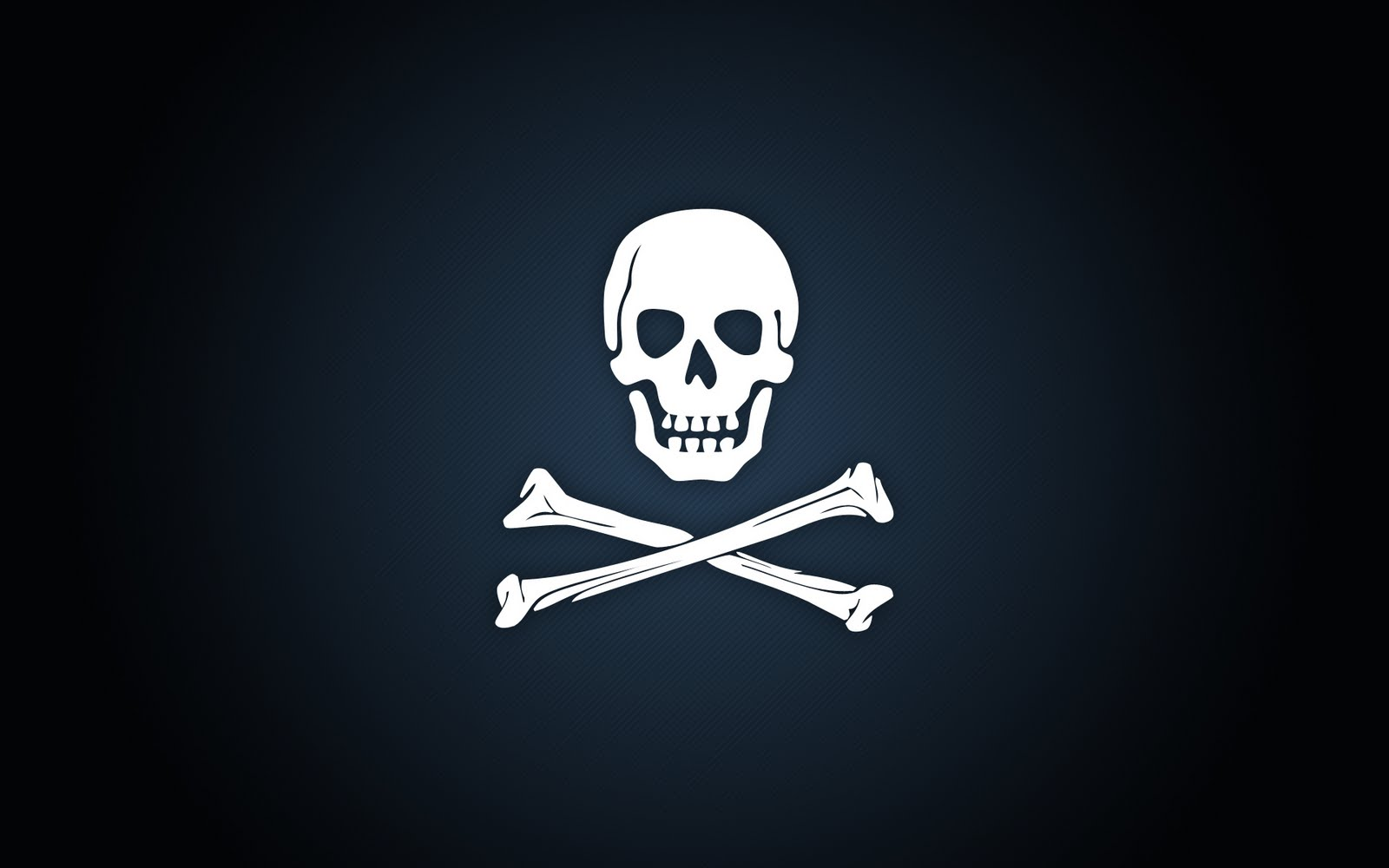 Planet Wallpapers: Pirate skull and crossbones stencil