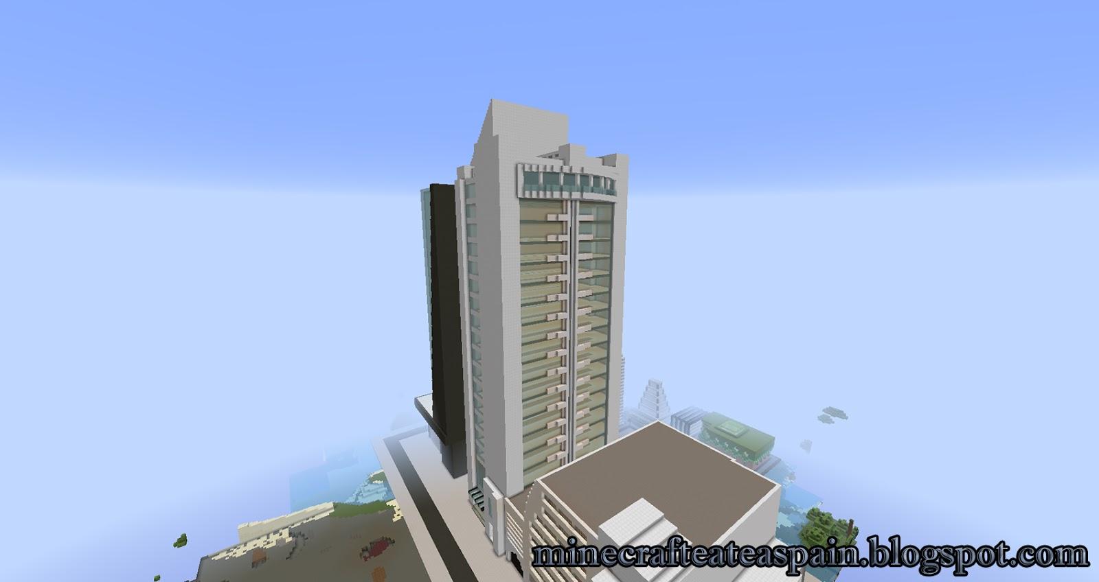 Minecrafteate r plica minecraft de la torre duo de bolivia for Minecraft moderno