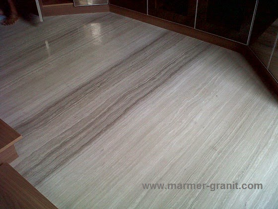 Lantai marmer serpegiante grey