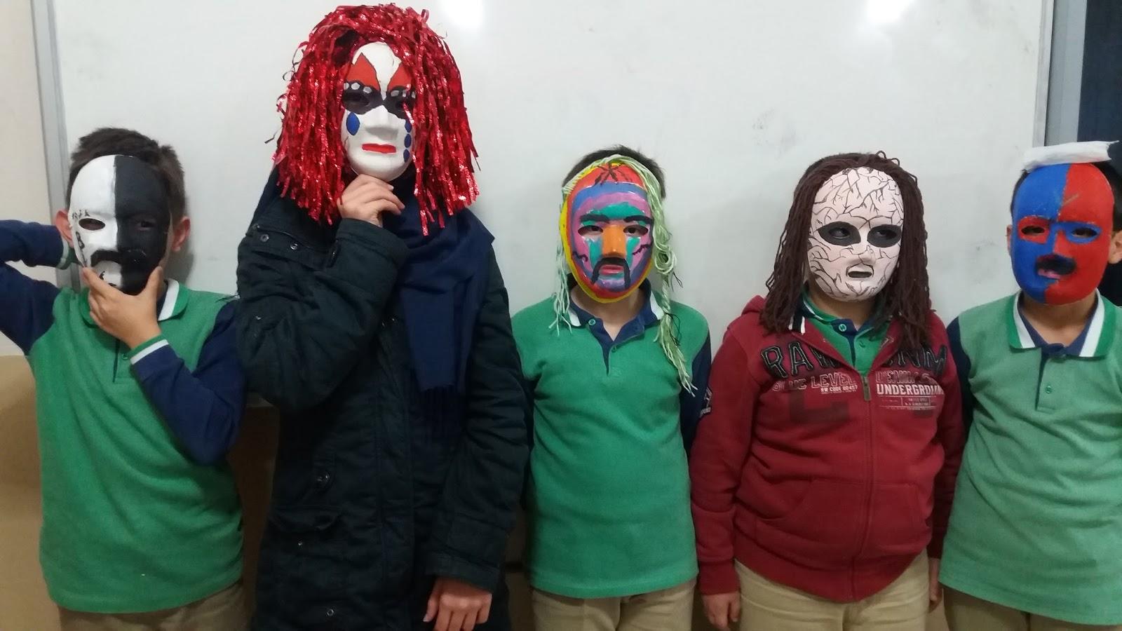 Madanoglu Gorsel Sanatlar 6 Sinif Maske