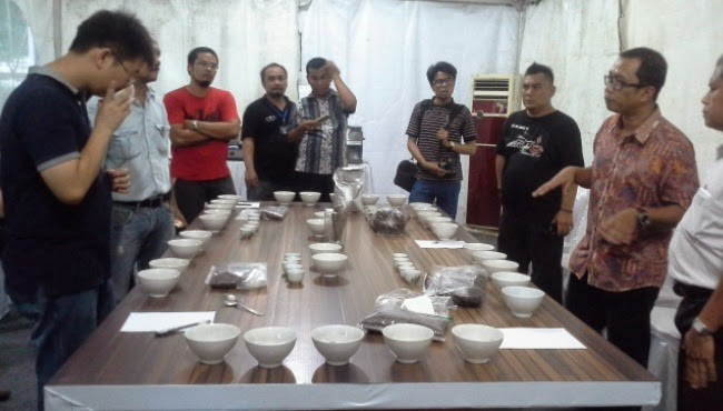 Cupping Session - Festival Kopi Medan