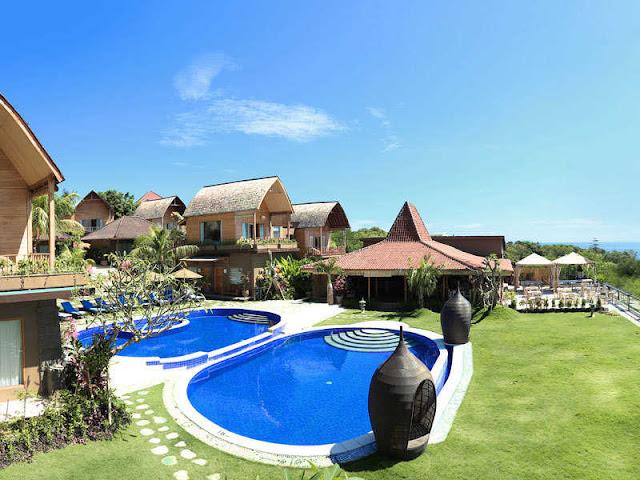 Hotel Termewah di Bali yaitu De Sappire Cliff Villa