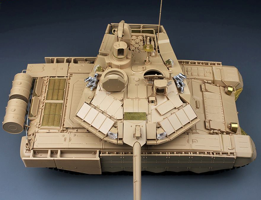 """1648330fb281 The Modelling News  Tiger model s new 35th scale Russian T-90MS """"Tagil"""" MBT  - just in time before it is"""
