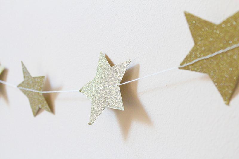 gold star bunting