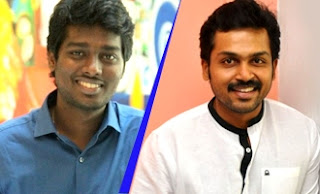Atlee's join hands with Karthi