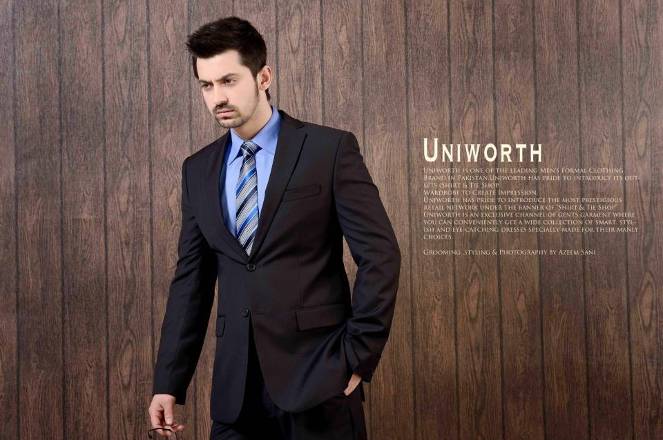decent uniworth formal suits for men