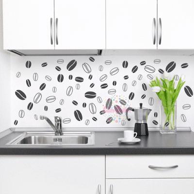 vinilo trama granos cafe decoracion cocina