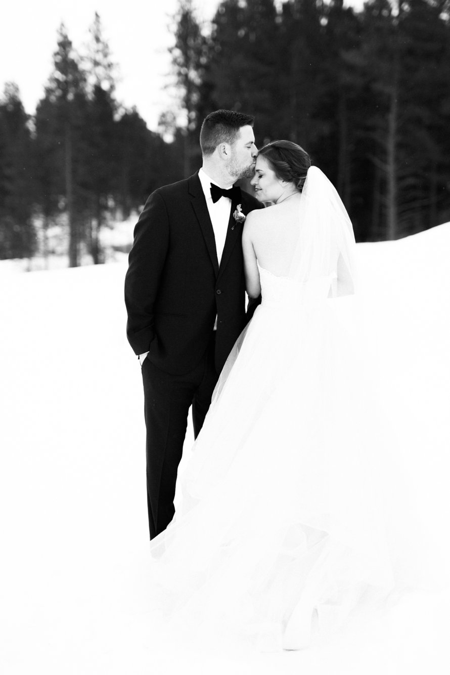 Swiftwater Cellars Winter Wedding Photography by Something Minted