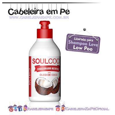 Condicionador Soulcoco - Retrô Cosméticos liberado para Low Poo