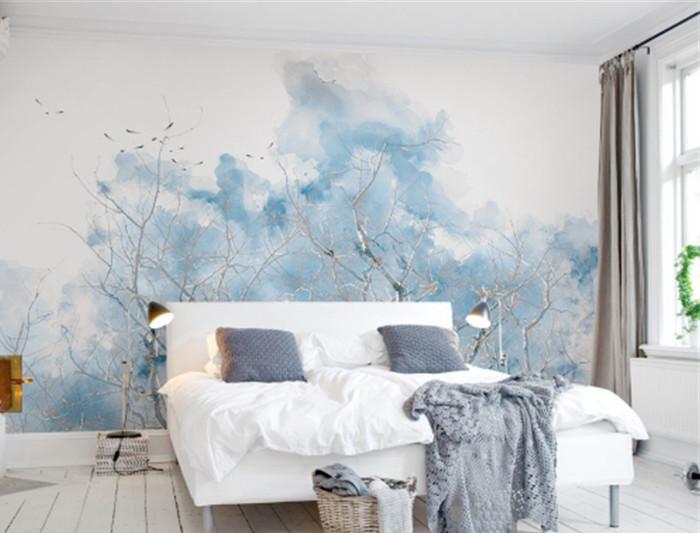 decoración cabecera pintura wallpaper