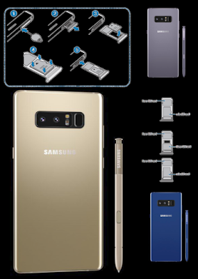 Galaxy Note8 Memory Cards